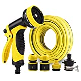 Hongyan Watering Can Garden Hoses Nozzle Reels 10 Ways Showers Car Cleaning Flower Watering Spray Supplies Garden Car Wash Watering Equipment Nozzles Spray Guns Drip Systems(100M) A+ (Size : 2M)