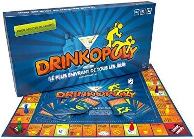 Drinkopoly – Le Plus Enivrant de Todos los Juegos – El Rey de Juegos de Beber – un Juego de Bandeja para los Adultos: Amazon.es: Juguetes y juegos