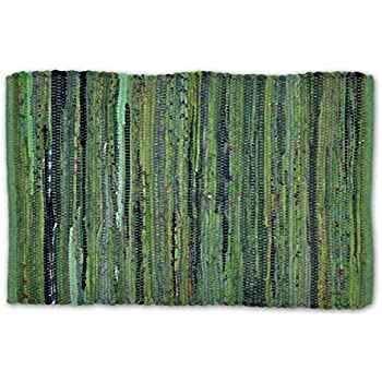 Amazon Com Williamsburg Sage Green Plaid Rag Rug 2 X 3