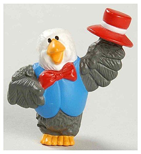 Hallmark Merry Miniatures Eagle with a Hat 1994 Patriotic