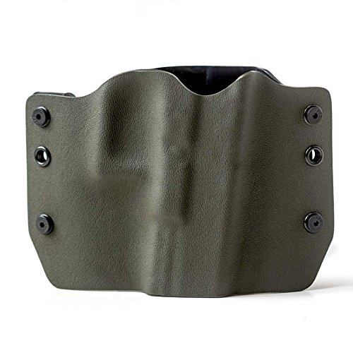 OD Green OWB Holster (Right-Hand, 1911 - 22/380 cal Small Frame)