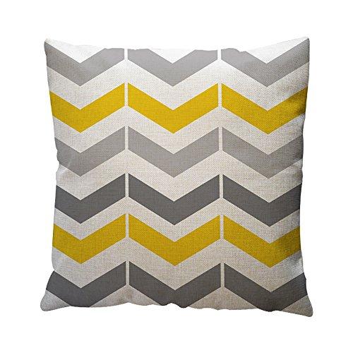 Chenway Geometric Pattern Pillow Case,Hidden Zipper Cushion Decoration CaseCover for Sofa Livingroom Home Decor (E) -