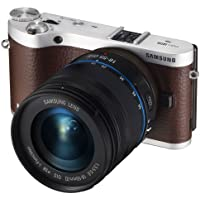 Samsung NX300 20.3MP CMOS Smart WiFi Mirrorless Digital Camera with 18-55mm Lens and 3.3 AMOLED Touch Screen (Brown)