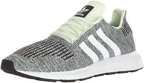 adidas Originals Men's Swift Run Shoes,aero Green s, FTWR White, core Black,9.5 M US Adidas Green