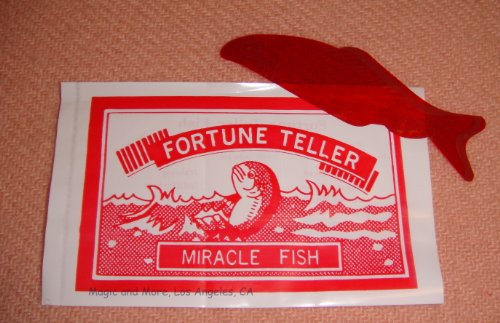 Fortune Teller Miracle Fish Magic Trick (pack of 10)