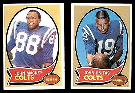 e35619732 Amazon.com  1970 Topps Baltimore Colts Team Set Baltimore Colts ...