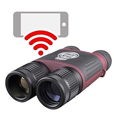 ATN BinoX THD 2.5-25x, 640x480, 50mm, Thermal Binocular w/Video Recording, Wi-Fi, GPS, TIBNBXH643A