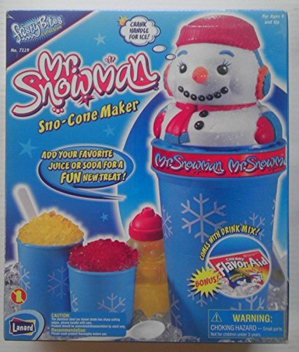 - Mr Snowman Sno-Cone Maker