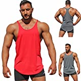 #8: Dacawin Fashion Surf Men's Sport Beach Swimming Fitness Tank Slim Fit Muscle Top