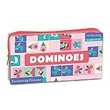 Mudpuppy Enchanting Princess Dominoes Board Game
