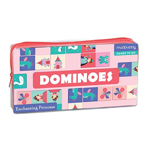 Mudpuppy Enchanting Princess Dominoes Board Game by Mudpuppy