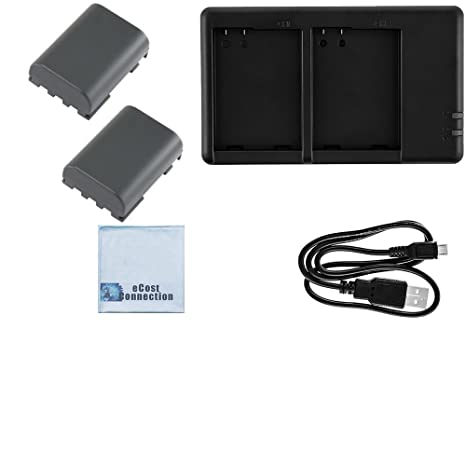 Buy 2 NB-2LH Batteries for Canon EOS-350D, EOS-400D, 50, 400