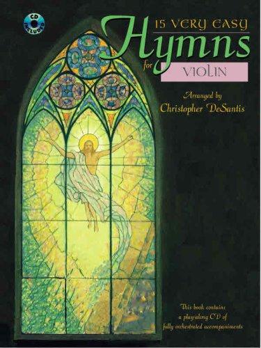 15 Very Easy Hymns: Violin (Book & CD)