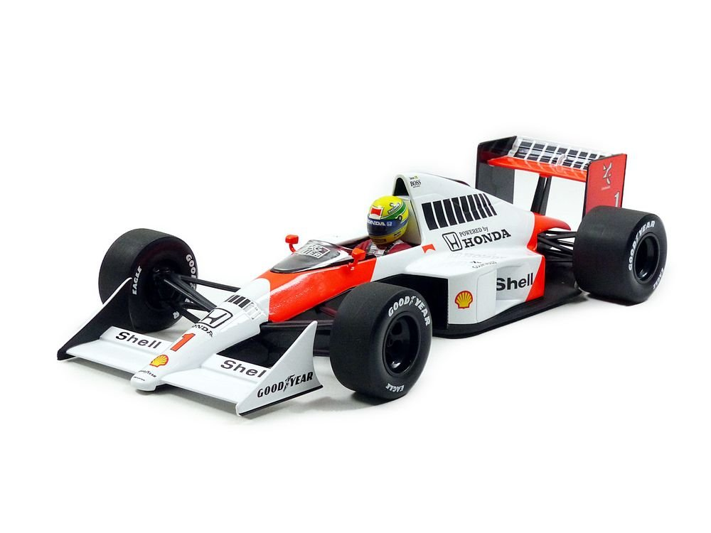 Minichamps 540891801 - McLaren Honda MP4/5 Team McLaren Senna, Ayrton 1989 Senna Collection