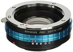 Fotodiox Pro Lens Mount Adapter, Sony Alpha (Konica Minolta Maxxum Auto Focus) Lens to Canon EOS EF/S Camera