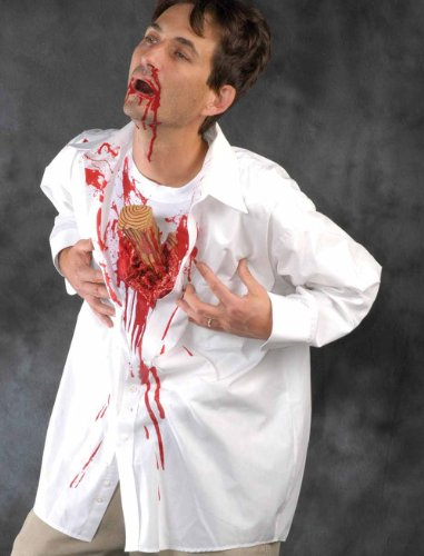 [Drac Shirt Adult Costume Size One Size Fits Most] (Drac Shirt Adult Costumes)