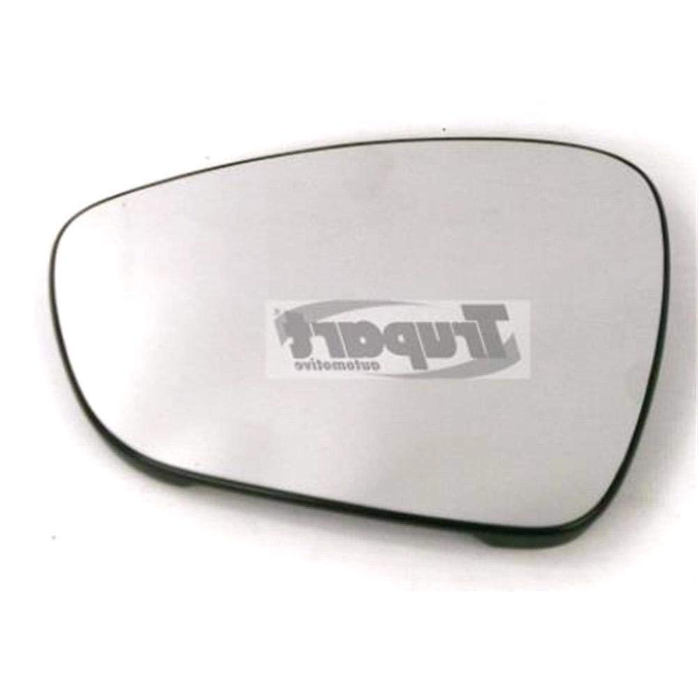 Left Mirror Glass (heated) & Holder