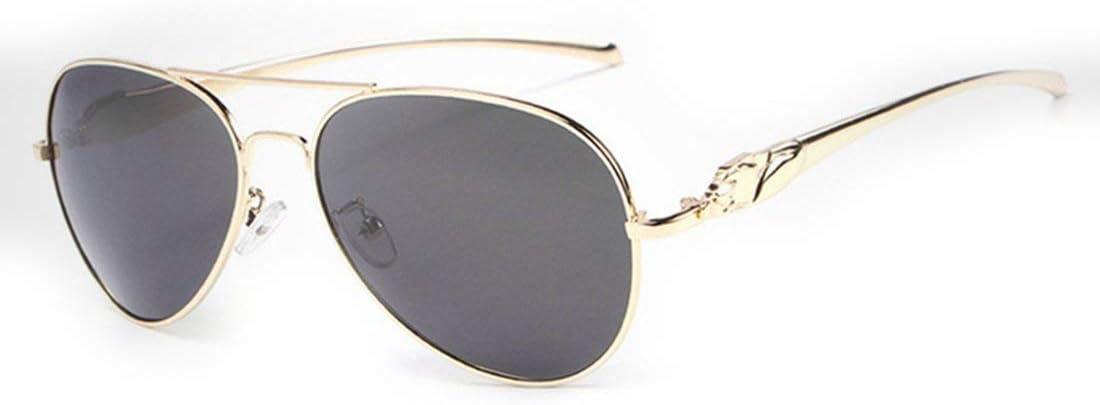 LNNZPL Pilot polarizzati di Guida Occhiali da Sole Classici degli Uomini Militari di Questo è Un Prodotto Che può Proteggere i Tuoi OCC (Color : Silver) Gold