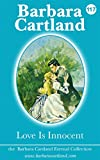 Love is Innocent by Barbara Cartland front cover