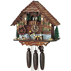 15.5 Cuckoo Clock with Beer Drinkers Getting Struck Over the Head