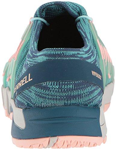 Merrell Kvinders Nøgne Adgang Flex Strik Sneaker Aqua Yp6QWZRqh2