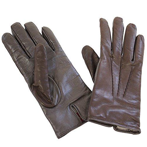 保安品タンパク質[カリデイ] CARIDEI スマホ対応 イタリア製 ラムスキン 本革 手袋 (レディース)