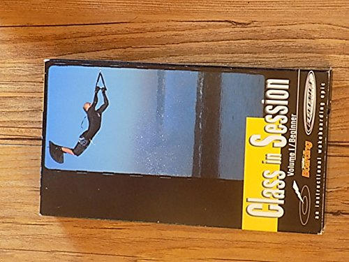CLASS IN SESSION Volume 1/Beginner Instructional Wakeboarding Epic (Vhs Cassette NTSC). Covers equipment, water starts, speeds & rope lengths, riding stance, turning & edging, beginner airs, riding switch, increasing air, basic tricks, and more ...
