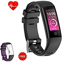 AUNEY Fitness Tracker Color Screen Sport Band Smart...