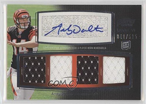 Andy Dalton #41/515 (Football Card) 2011 Topps Prime - Level VI Autographed Relic #PVI-AD