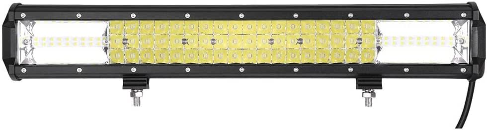 "20"" 540W LED Work Light Bar Spot Flood Combo Beam IP67 Compatible with Offroad ATV Vehicle"