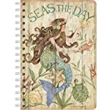 LANG - Spiral Journal - ''Seas The Day'', Artwork by Susan Winget - 240 ruled page, 6'' x 8.25''
