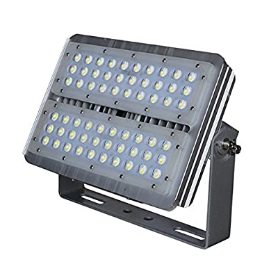 Julitech 60W-120W LED Flood Light, Waterproof IP65, 12000Lm, Super Bright Outdoor LED Flood Lights For Playground, Garage, Garden, Lawn And Yard Model