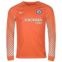 2017-2018 Chelsea Home Nike Goalkeeper Shirt (Orange)