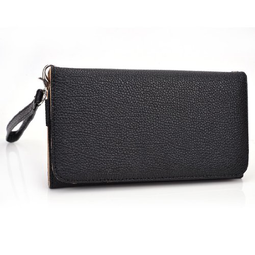 kroo-clutch-wristlet-wallet-for-63-inch-smartphones-and-phablets-retail-packaging-black