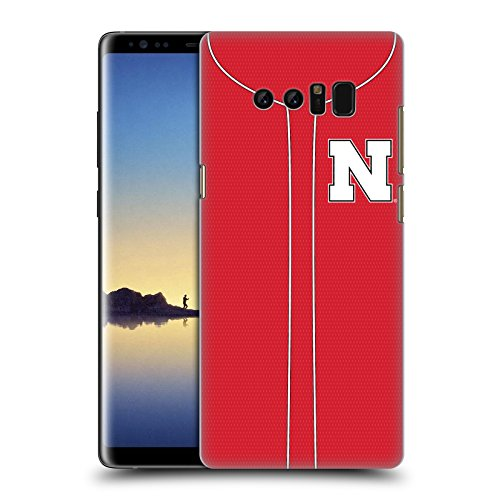 Official University Of Nebraska-Lincoln UNL Baseball Jersey Hard Back Case for Samsung Galaxy Note8 / Note 8