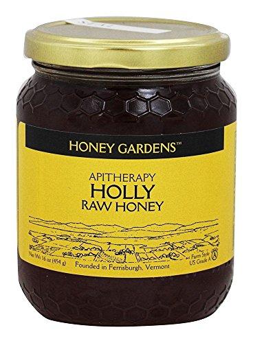 Apitherapy Holly Raw Honey Honey Gardens 16 oz Liquid