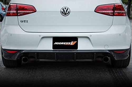 2015 MK7 Volkswagen Golf/GTI/Rabbit 2.0T - MK7 GTI Rear Carbon Fiber Diffuser Golf Gti Carbon