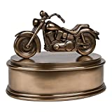 Perfect Memorials Motorcycle Cremation Urn Highly Detailed