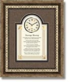 Marriage Blessing - 15'' X 18'' Framed Wall Clock