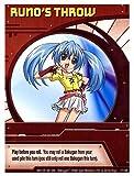 Bakugan Special Ability Card - RUNOS THROW
