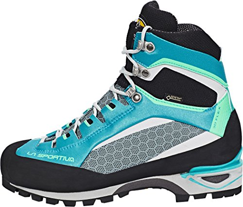 La Sportiva Trango Tower GTX - Chaussures - gris/turquoise 2017