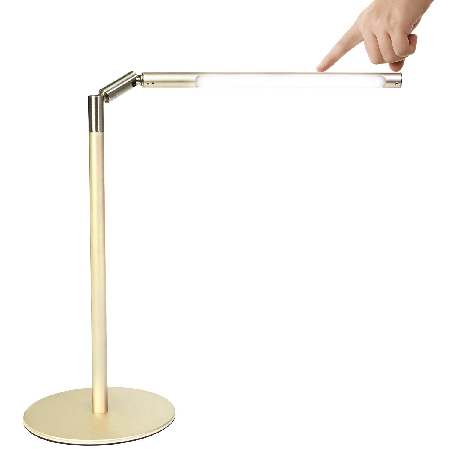 Lamp For Bedroom LED Gold Desk Lamp Touch Control Lighting