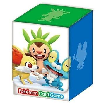 Juego de cartas de Pokemon aguja Caso oficial de cubierta ...