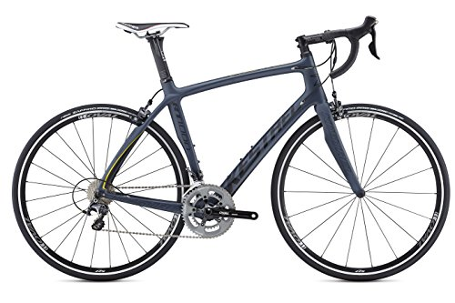 Kestrel RT-1000 Shimano Ultegra Bicycle, Satin Blue Gray/Yellow, 56cm/Large