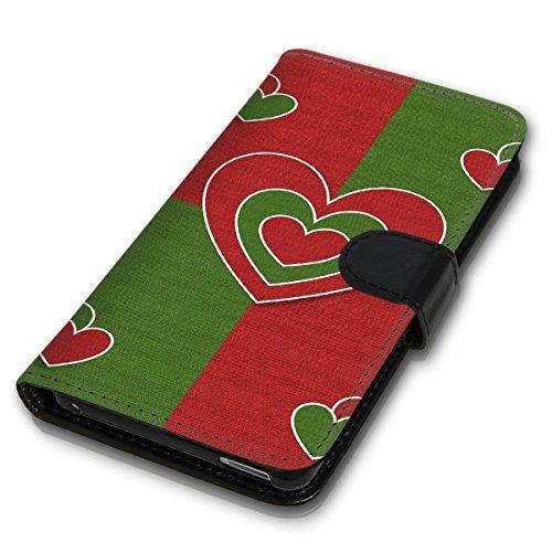 Wallet Book Style Flip Handy Tasche Case Schutz Hülle Schale Motiv Etui für Apple iPhone 6 Plus / 6S Plus - Design Flip MV260