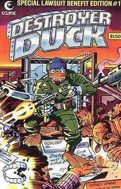 - Destroyer Duck (1982 series) #1