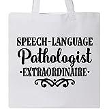 Inktastic - Speech Language Pathologist Gift Tote Bag White 2e0c1