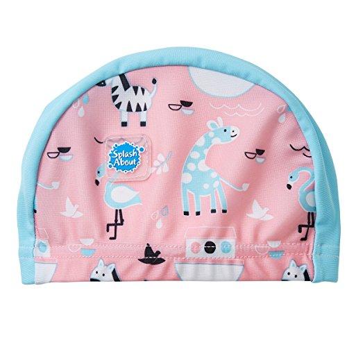 Splash About Baby and Toddler Swim Hat/Cap (Ninas Ark, 0-18 Months)