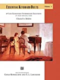 Essential Keyboard Duets, Vol 1: 40 Late Elementary / Intermediate Selections in Their Original Form, Comb Bound Book (Alfred Masterwork Edition: Essential Keyboard Repertoire)