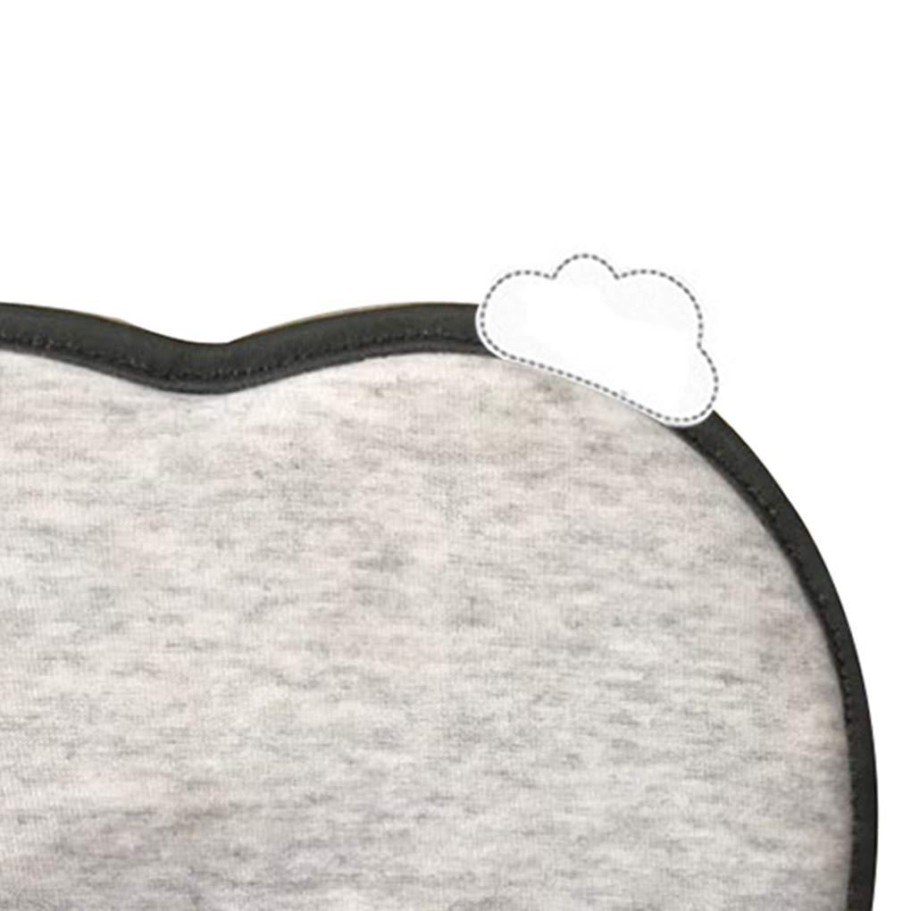 Bambino Correzione cuscino infantile di sonno del bambino dei bambini antirollio del rilievo Newborn a testa piatta Pillow Pandiki